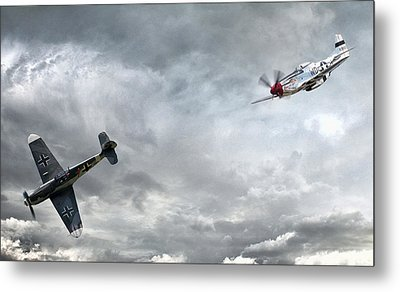 The Rush Metal Print by Peter Chilelli