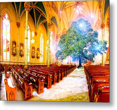 The Sacred World Metal Print by Mark E Tisdale