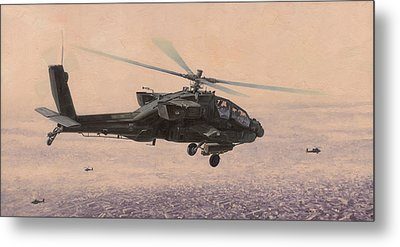 The Sadr City Flying Club Metal Print by Wade Meyers