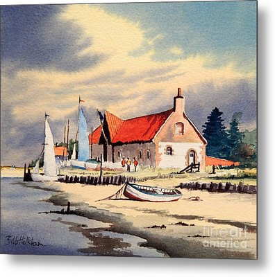 The Sailing Club  Metal Print by Bill Holkham