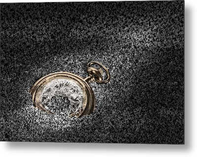 The Sands Of Time Metal Print by Tom Mc Nemar
