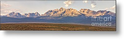 The Sawtooths' Metal Print by Robert Bales