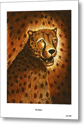 The Scout Metal Print by Jonas Jeque
