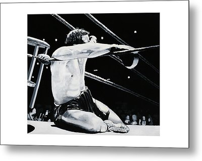 The Seat Metal Print by Mike Walrath