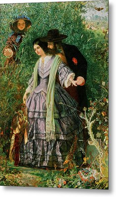 The Secret Metal Print by William Henry Fisk