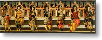 The Seven Virtues Metal Print by Mountain Dreams