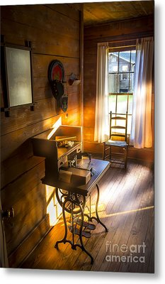 The Sewing Room Metal Print by Marvin Spates