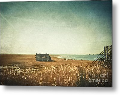The Shack - Lbi Metal Print by Colleen Kammerer