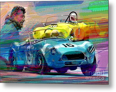 The Shelby Legacy Metal Print by David Lloyd Glover