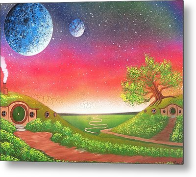 The Shire Metal Print by Drew Goehring