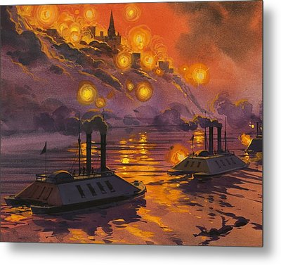 The Siege Of Vicksburg Metal Print by Angus McBride