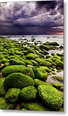 The Silence After The Storm Metal Print by Jorge Maia