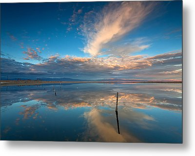 The Sky Whispered Metal Print by Peter Tellone