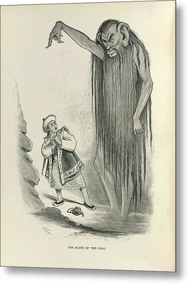 The Slave Of The Ring Metal Print by British Library