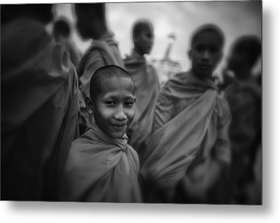 The Smile Of A Novice Metal Print by David Longstreath