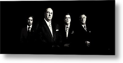 The Sopranos Metal Print by Laurence Adamson