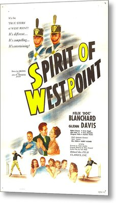 The Spirit Of West Point, Us Poster Metal Print by Everett