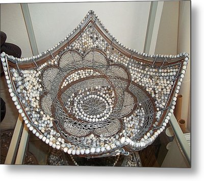 The Sqaure Bowl Metal Print by Nick  Jaji
