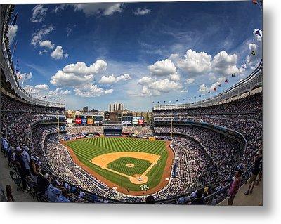 The Stadium Metal Print by Rick Berk