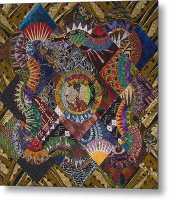 The Stars Come Out Metal Print by Aisha Lumumba
