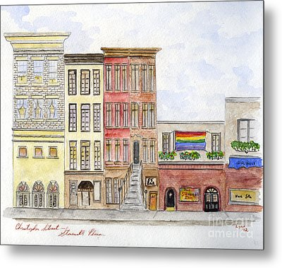 The Stonewall Inn Metal Print by AFineLyne