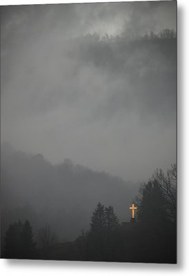 The Storm Is Over Metal Print by Ed Kelley