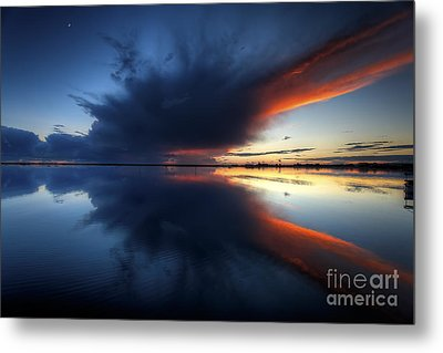 The Storm Metal Print by English Landscapes