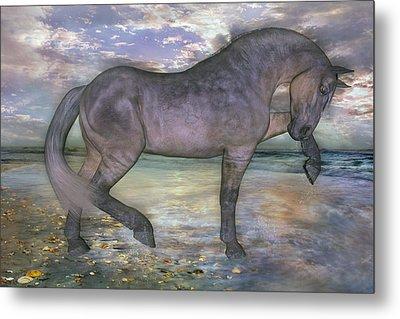 The Sunrise Horse Metal Print by Betsy C Knapp