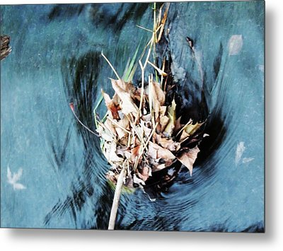 The Swirl Metal Print by Todd Sherlock