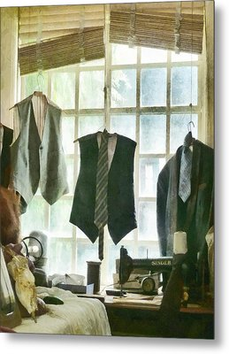 The Tailor Shop Metal Print by Steve Taylor