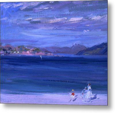 The Tale Of Mull From Iona Metal Print by Francis Campbell Boileau Cadell