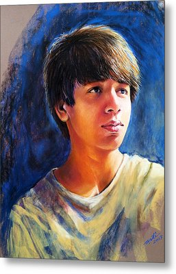 The Teenager Metal Print by Arti Chauhan