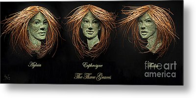 The Three Graces Metal Print by Adam Long