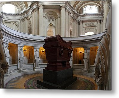 The Tombs At Les Invalides - Paris France - 011328 Metal Print by DC Photographer
