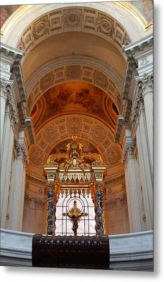 The Tombs At Les Invalides - Paris France - 011333 Metal Print by DC Photographer