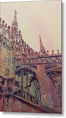 The Top Of Milan Metal Print by Jenny Armitage