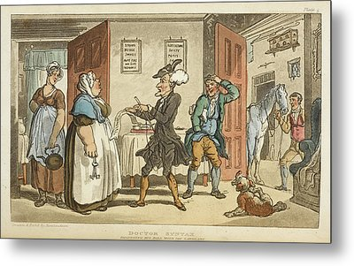 The Tour Of Doctor Syntax Metal Print by British Library