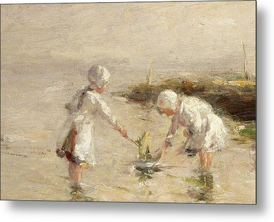 The Toy Boat Metal Print by Robert Gemmel Hutchison