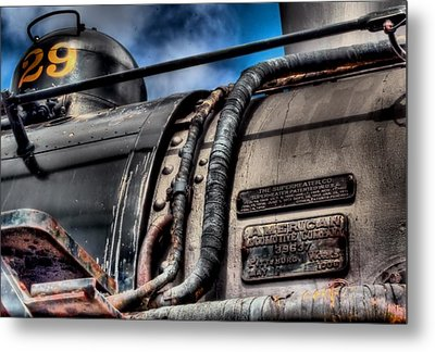 The Train Metal Print by DH Visions Photography