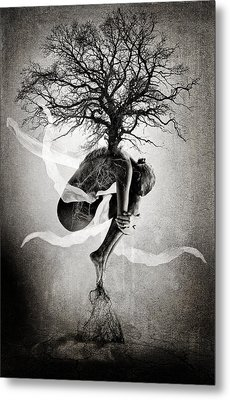 The Tree Of Life Metal Print by Erik Brede