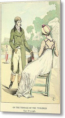 The Tuileries Metal Print by British Library