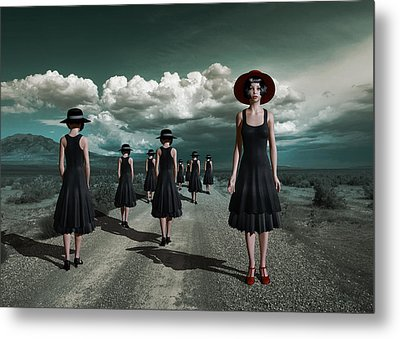 The Turn Metal Print by Britta Glodde