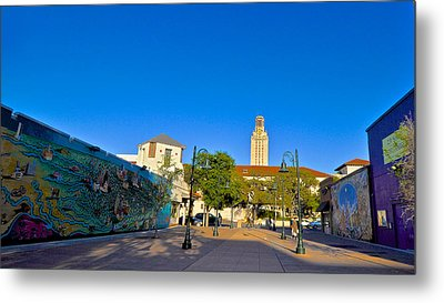 The University Of Texas Tower Metal Print by Kristina Deane