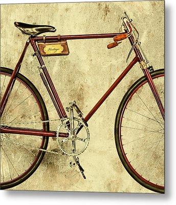 The Vintage Racing Bike Metal Print by Martin Bergsma