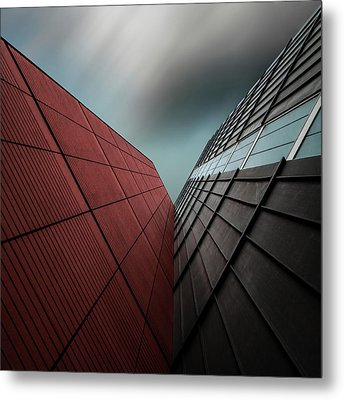 The Visor Metal Print by Gilbert Claes