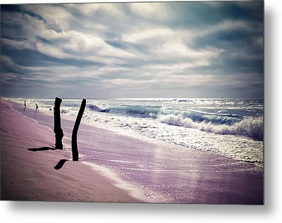 Metal Print featuring the photograph The Voice Of The Sea by Thierry Bouriat