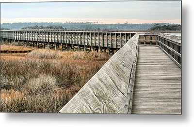 The Walkway Metal Print by JC Findley
