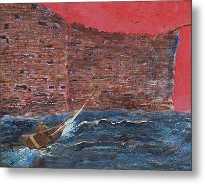 The Wall Crasher Metal Print by Gary Huang