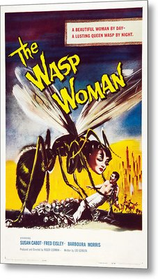 The Wasp Woman, Susan Cabot, 1959 Metal Print by Everett