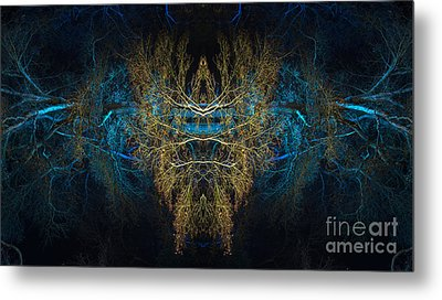 The Watcher Metal Print by Tim Gainey